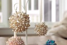 Beaded Ornaments / by Betty Malone