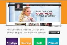 Our Website Work  / Check out http://www.RentSeeker.ca 's Website Design & Development work for Real Estate & Property Management Companies across Canada. / by RentSeeker.ca