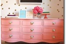 Painted furnature / Painted furniture inspiration