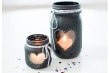 Mason jars / by Macy Fisher-Goode