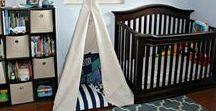 Baby Boy Nursery / Boy Nursery Decor & Ideas