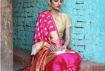 Elegant Indian sarees