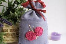 Саше с лавандой ароматические ручной работы (lavender sachet,lavender aroma) / Саше с лавандой ручной работы от магазина Лаванда