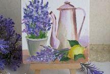 Картины с лавандой (picture lavender flower Provence) / картины с лавандой, стиль прованс