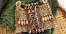 Этнические украшения (ethnic jewelry necklace pendants) / украшения в этническом стиле от разных мастеров ( колье, кулоны, бусы)