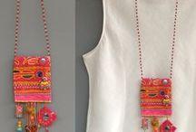 Идеи для украшений (designer jewelry, jewelry ideas) / интересные украшения в бохо и этно стиле, украшения из камней, украшения из шнуров, украшения из проволоки, украшения из кожи