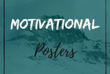 Motivational Posters / Weight Loss and Healthy Life Motivational Inspirational Posters
