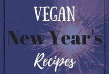 Vegan New Year's Eve Recipes / Vegan New Year's Eve Food Recipes, Ideas, Celebration