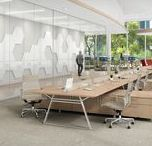 Trestle Connect / Marrying the distinctive Trestle frame with the space efficiency of a benching configuration, the Trestle Connect series turns large open workspaces into productive hubs of activity.