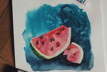 Акварель /watercolor / Watercolor , акварель