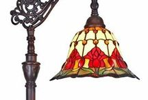 Tiffany Style Lamps / Tiffany Style Lamps -  Decorative Floor lamps, wall lamps, table lamps & Ceiling Lamps many with matching Tiffany fixtures, for any room in your home