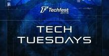 Tech Tuesdays / Tech Tuesday is Techfest, IIT Bombay's first weekly poster series. Christened #TechTuesdays, you will get an insight into what's happening in the amazing world of Science & Technology. Stay Tuned | Every Tuesday | 5 PM