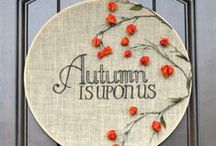 Fall Decor & Recipes / Decorating ideas and recipes for fall (Halloween & Thanksgiving)