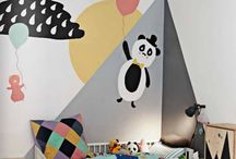 Kids' Rooms / Great ideas and inspirations for creating stylish, trendy and contemporary bedrooms for children, both boys and girls.