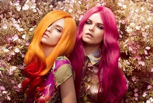 Colorful Hair / Amazing colored hair! / by Liz Wade
