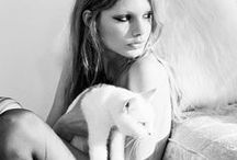 """Furry Friends / """"Until one has loved an animal, a part of one's soul remains unawakened."""" Anatole France / by Maribel"""
