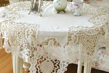 Lace & Doilies... / by Margie Mariott-Barbee