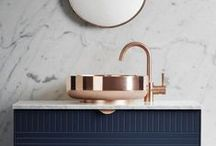 Bathroom Ideas and Inspiration / Ideas, suggestions and stylish inspiration for family bathroom decor.