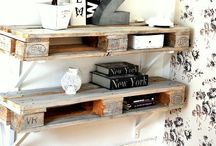 Wooden Pallets in the Home / Discover all kinds of ways to upcycle and repurpose wooden pallets for use in stylish and contemporary home interiors.