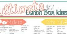 School Lunches / Lunch Ideas, packing lunches, creative packed lunch ideas