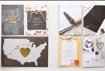 Crafts: Project Life / Pocket scrapbooking - my favorite! Daily, weekly, monthly or event... idea I saw and loved are here.  / by Studio 98110