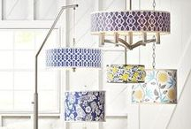 Lamps Shades / Whether it's for a cozy reading nook or a grand entryway, a new lamp shade is a quick and easy way to redecorate and bring a fresh look into your home. / by Lamps Plus