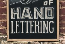 Hand Lettering / by Liz Wade