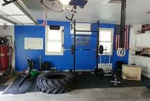 Crossfit Style Home Gym / by John Skilbred