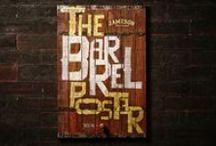 JAMESON BARREL POSTER / Um pôster que virou barril ou um barril que virou pôster?