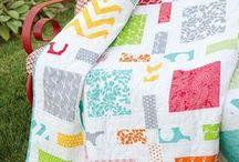Pre-Cut Ideas / Quilt ideas made with pre-cut fabrics