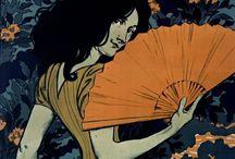 Art Nouveau Prints / This board highlights the famous Art Nouveau movement (c.1890 - c.1910)
