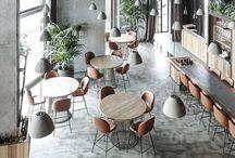 Bars, Cafés, and Restaurants / Interior design
