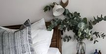 Guest Bedroom Decor / Ideas, inspirations and advice for creating the perfect guest bedroom, looking at interiors, colours and storage. Create the ideal guest bedroom decor for your visitors and family and make the most of the space you have.