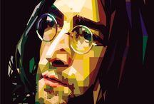 John Lennon / Paint / Art