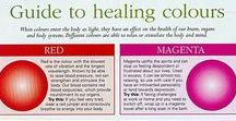 Color Psychology / Color plays an important role when designing healing spaces.