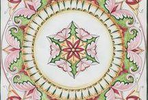 Ceramiche di Vietri Tavoli in Pietra Lavica / Tavoli in Pietra Lavica decorati a mano in stile vietrese