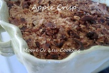 Apples!! Moore or Less Cooking / All delicious RECIPES WITH APPLES!