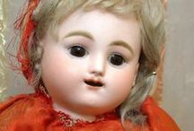 "dolls & toys: french / ( poupée) jouet The first speaking dolls were made in the 1820's by the French man Johann Maelzel, the inventor of the metronome for the piano. By 1823 Maelzel displayed dolls that said ""Maman"" when their left hands were raised to shoulder level and ""Papa"" when their right hands were raised. Maelzel took out a patent in 1834. Around the 1820's pictures of children with baby dolls appeared. Before this they resembled small, exquisitely and formally dressed adults. / by Chantel Roux"