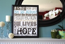 He is Risen! / by Melissa Whitcher @ Redfly Creations