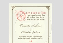 ~Cute & Whimsical Wedding Stationery~