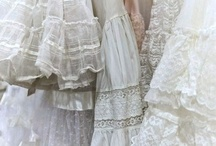 White, Lace, and Ruffles