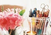 In The Studio / by Karla Smith ~ Art Whisper Cafe'