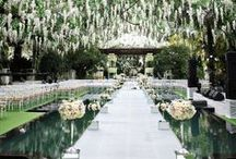 ~Elegant Wedding Decorations and Table Settings~