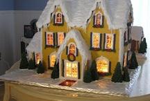 Gingerbread / All things gingerbread! Gingerbread houses.