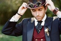 Fashion: Men's Steampunk / by Alyssa Hollingsworth