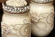 Lace.Pearls,Ribbons,Bows & Bling / To use lace in other ways to create beautiful things... / by Craig 'N'Ronnie Frazee