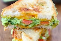 Savory Sandwiches and Salads