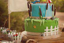 Huckleberry Finn 1st birthday party