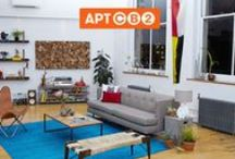 APT CB2: Living Room / Welcome to the Living Room of APT CB2. On May 11, 2014, I partnered with CB2 to create the first ever apartment, designed live on Pinterest! I pinned, you picked, and with the help of CB2 we created one gorgeous NYC Apartment! Explore my board for inspiration, tips and tricks for bringing your own Living Room to life.  / by Daniel Bear Hunley