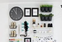 Craft Room & Organization / A collection of the loveliest and most enviable craft rooms we've seen.